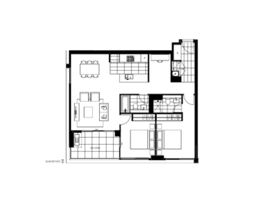 83 + 8 sqm Spacious Two Bedrooms Apartment