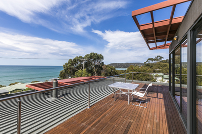 A STYLISH AND SUBSTANTIAL SIZED BEACH HOUSE
