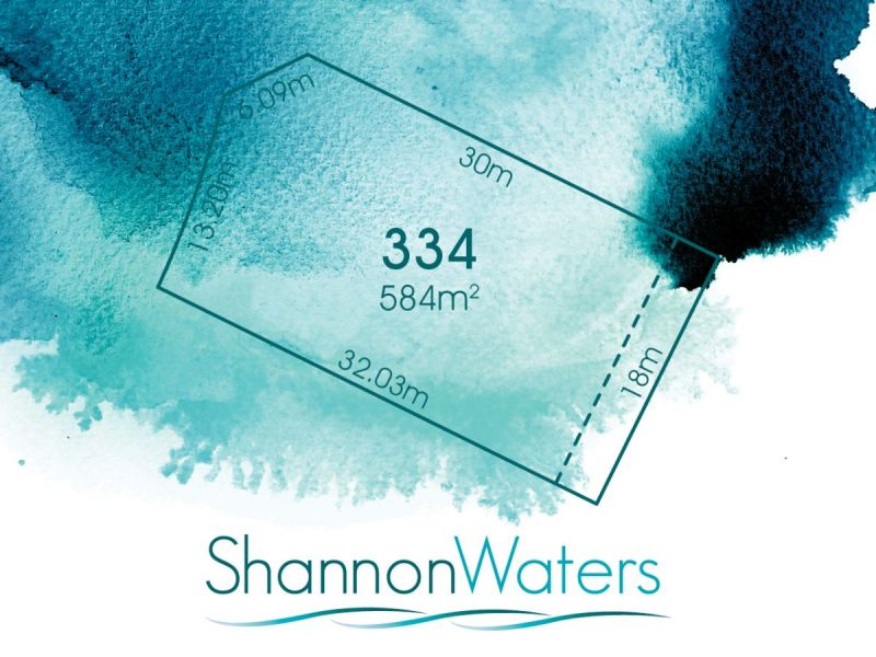 LOT 334, BROLGA STREET, SHANNON WATERS