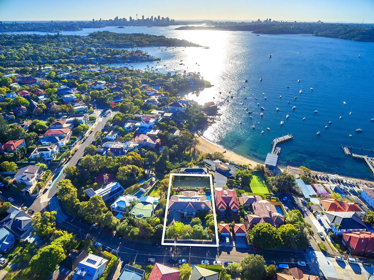 Single Family Home for Sale at Elegant Showpiece in a Prime Harbourside Position 178 Hopetoun Avenue Vaucluse, New South Wales,2030 Australia