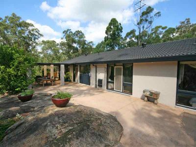 open home cancelled under contract.  step into acreage with this arty type 4 bedroom home on pretty acres; with s/c studio.