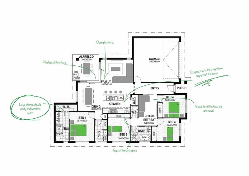 LOT 22 WOLLGONBAR ESTATE WOLLONGBAR Floorplan