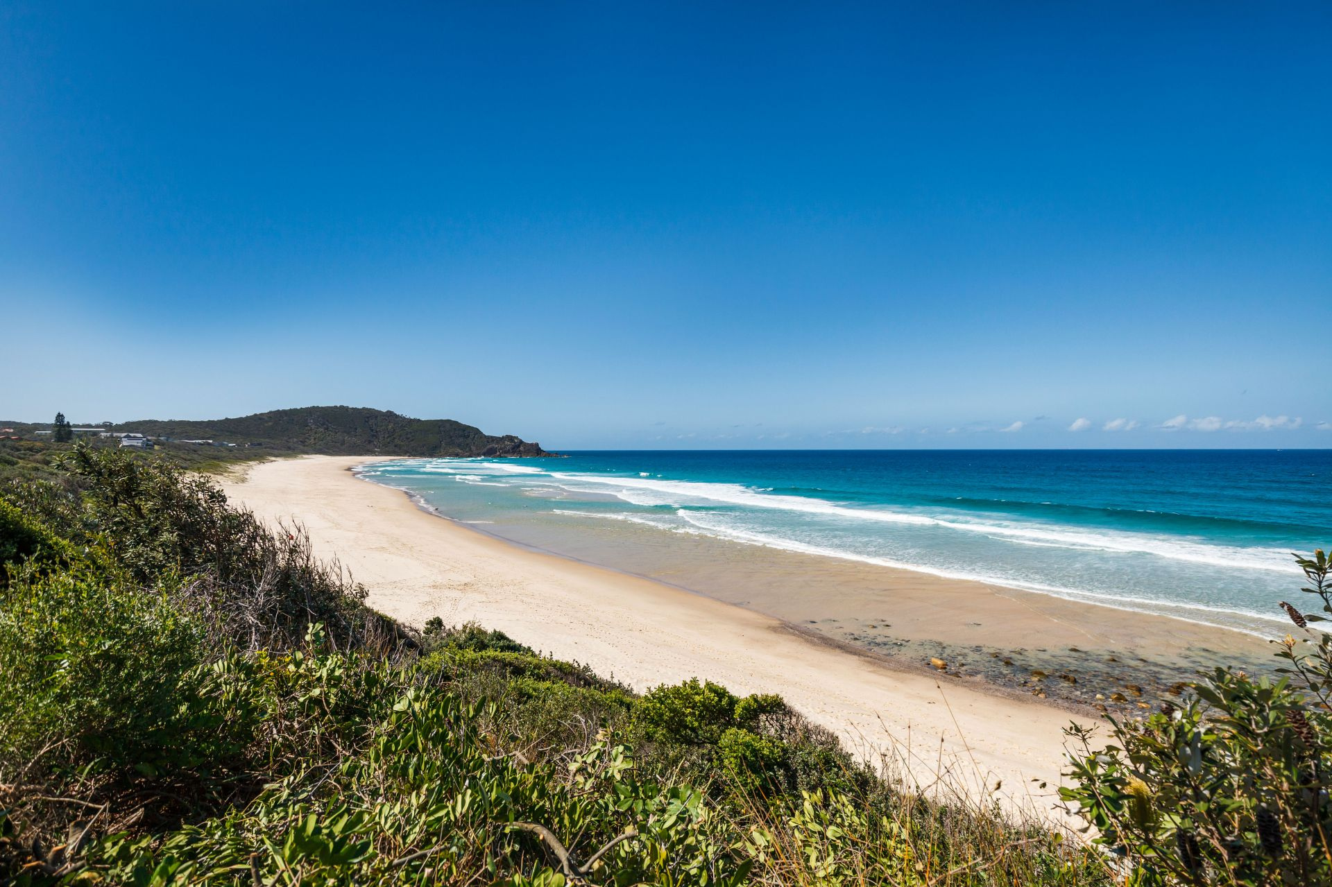 Moradia para Venda às Unique beachfront investment, two adjoining landholdings Boomerang Beach, New South Wales,2428 Austrália