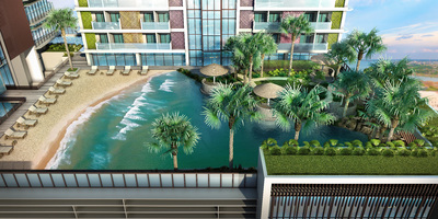 Diamond Twin Tower, Tonle Bassac, Phnom Penh | New Development for sale in Chamkarmon Tonle Bassac img 3