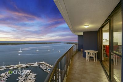 MAGNIFICENT WATERFRONT LIVING + 2 CAR PARKING