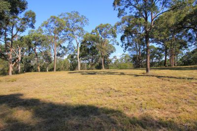 stunning private and secluded larger acreage block in beautiful setting with distant views.