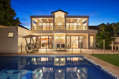 Generous Home With Superb Harbour To Ocean Views