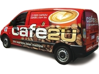 Cafe2U Mobile Coffee Franchise