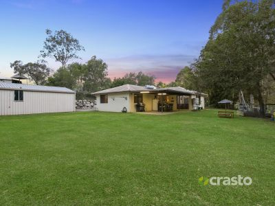 Usable acreage with Easy Care Single level Home