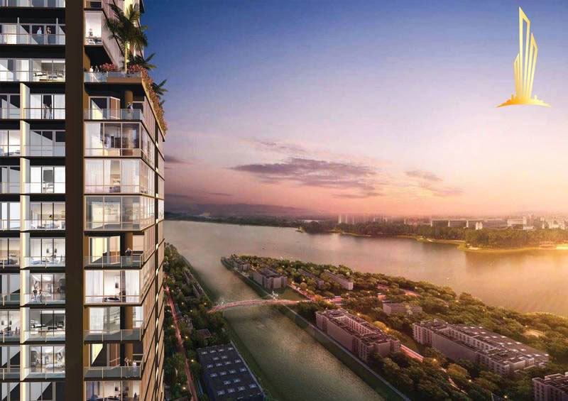 The Penthouse Residence, Tonle Bassac, Phnom Penh | New Development for sale in Chamkarmon Tonle Bassac