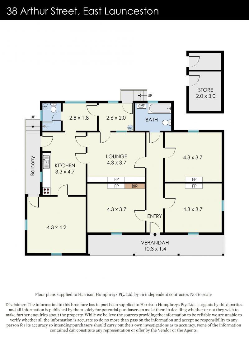 38 Arthur Street Floorplan