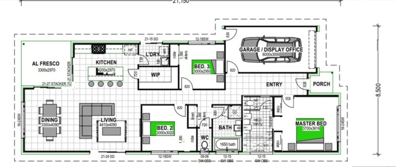 LOT 4 RIVERBREEZE ESTATE GRIFFIN Floorplan