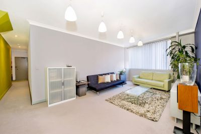 Trendy City Pad Offers Approx 64sqm Of Spacious Living + Security Parking