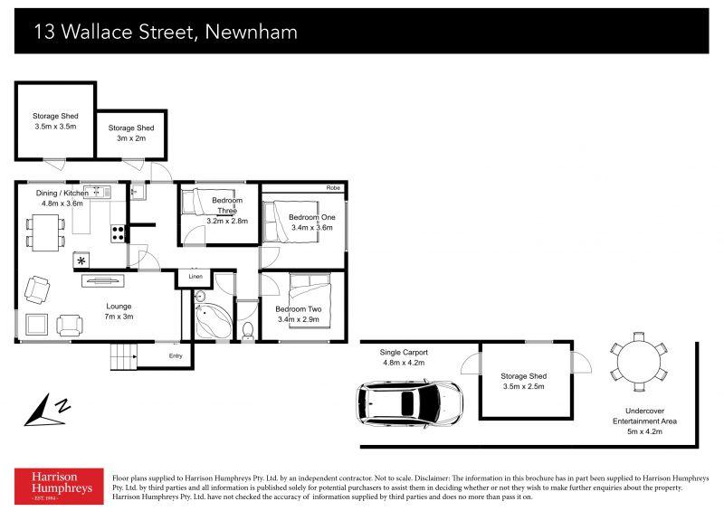 13 Wallace Street Floorplan