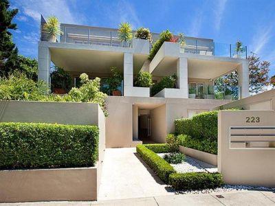 Ideal leafy sublime garden unit