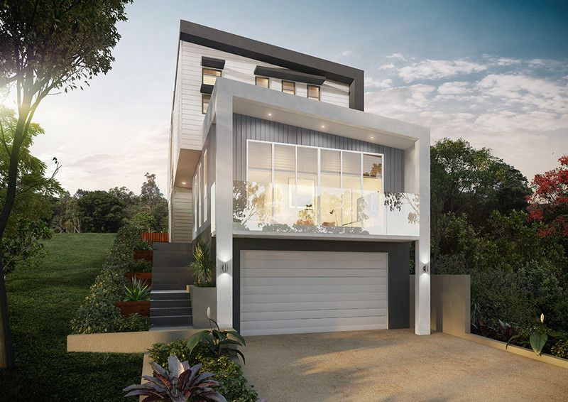 OFF THE PLAN - contemporary home with elevated views to the Gateway Bridge