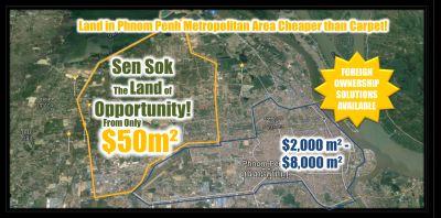 Teuk Thla, Phnom Penh   Land for sale in Sen Sok Teuk Thla img 7