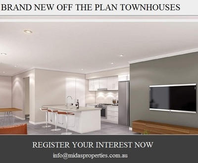 Brand New Off The Plan Townhouses
