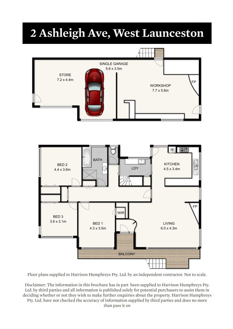 2 Ashleigh Avenue Floorplan