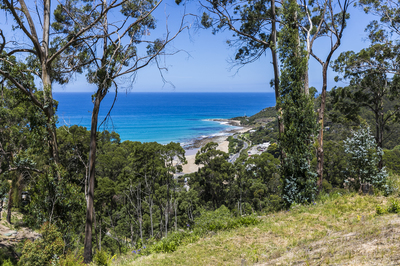 STUNNING OCEAN VIEWS ON ONE OF THE LARGEST BLOCKS IN WYE RIVER.
