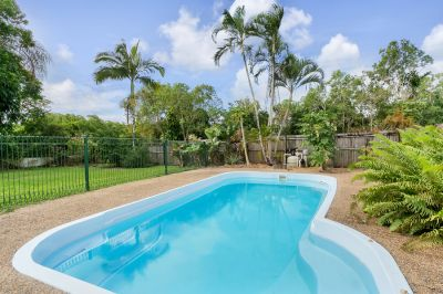 Family fun affordable home with massive yard, patio & pool