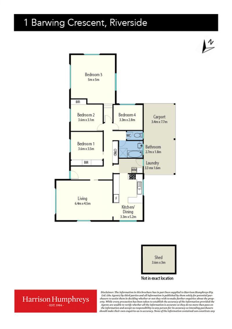 1 Barwing Crescent Floorplan