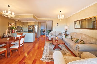 Immaculate Split Level 2 Bedroom Apartment in Popular Location