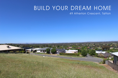 Build Your Dream Home On a Elevated 1217m2 Block