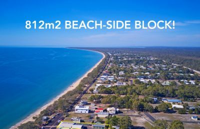 LARGE 812m2 BLOCK AT THE BEACH!!