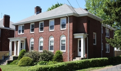 Charming, stately brick two family in prime location off of Commonwealth Ave