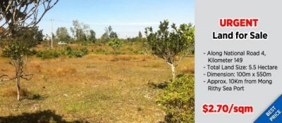 Ou Treh | Land for sale in Stueng Hav Ou Treh img 0