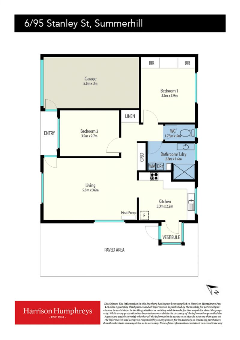95 Stanley Street Floorplan