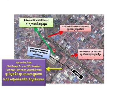 Toul Svay Prey 2 | Flat for sale in Chamkarmon Toul Svay Prey 2 img 0
