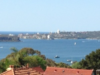 MOSMAN 2BED F/F APT HARBOUR VIEWS CARPARK.