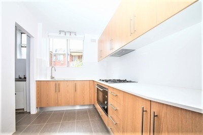 Two Bedroom Rear Unit with Ultra Modern Kitchen - LEASED