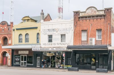 Two Story Street Frontage