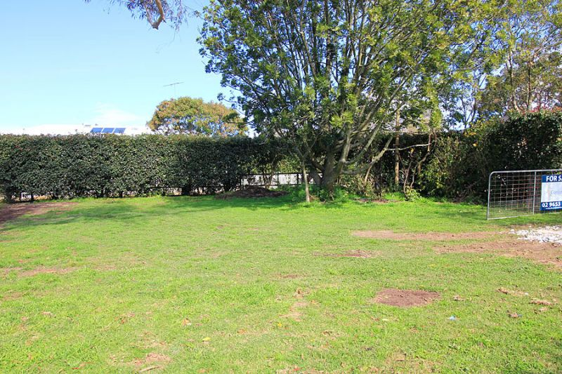 Vacant Land  Lovely level block. Close in Location
