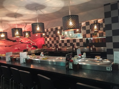PRICE REDUCED! PROFITABLE SUSHI TRAIN AT HILLARYS MARINA AT WELL BELOW REPLACEMENT COST