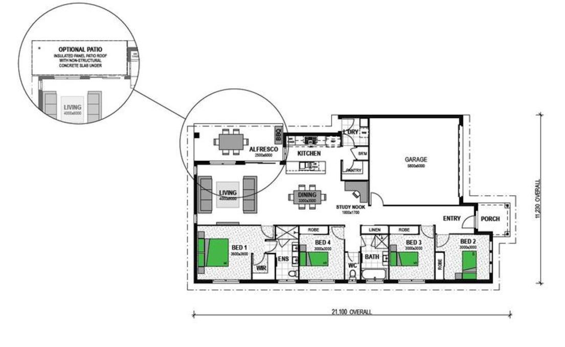 "LOT 3 ""TORQUAY VIEWS"" TORQUAY Floorplan"
