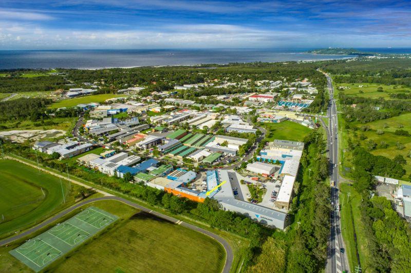 Large 290m2 Byron Bay Industrial Unit