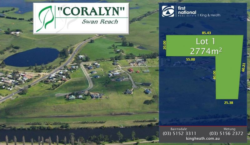 LOT 1, CORALYN DRIVE - SWAN REACH