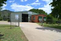 Freehold investment - Industrial zoned land and warehouse in Bright, Victoria