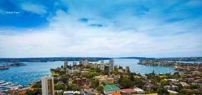 Spectacular Executive Apartment with World Class 270 Views + Ideal North Aspect, Level Lift Access + Footsteps to Edgecliff Shopping Centre