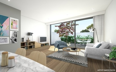 Brand New Luxury Apartment with Large Private Courtyard