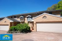 Modern 3 Bedroom Townhouse In Quite Location. Double Lock up garage. Secure Yard. Close to Parramatta CBD.