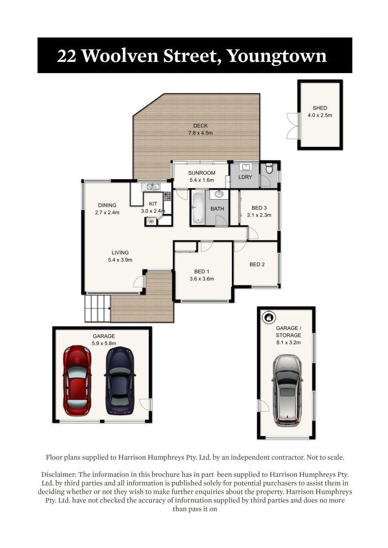 22 Woolven Street Floorplan
