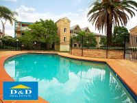 Renovated Luxury 1 Bedroom Unit in Resort Style Complex. Huge Private Courtyard. Lock Up Garage. Close to Parramatta CBD & UWS. Fantastic Investment!