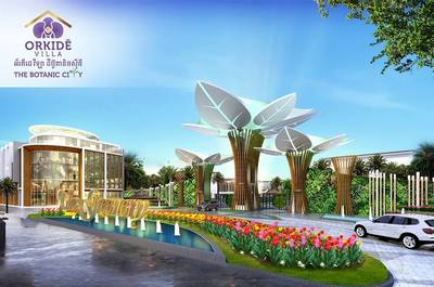 Orkide Villa  The Botanic City, Chroy Changvar, Phnom Penh | New Development for sale in Chroy Changvar Chroy Changvar img 0