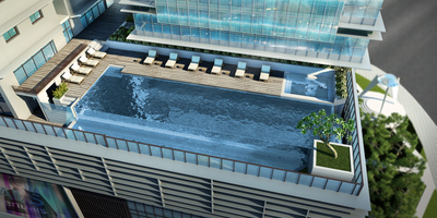 Diamond Twin Tower, Tonle Bassac, Phnom Penh | New Development for sale in Chamkarmon Tonle Bassac img 4