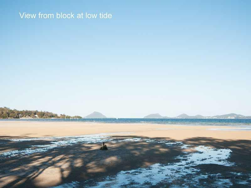 Exceptional Port Stephens views – camping block investment